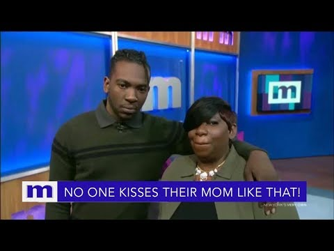 No one kisses their mom like that! | The Maury Show