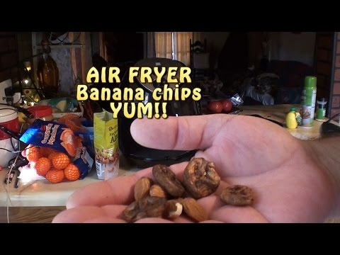Man Cooking: Air Fryer Banana Chips