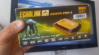 Echolink Femto pro 3 جهاز بسيرفر فانكام و IPTV Dima Lit