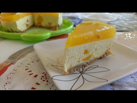 How to Make Peach Cheesecake