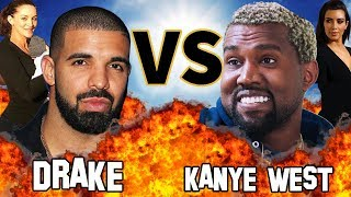 DRAKE VS. KANYE WEST | Before They Were Famous | VERSUS