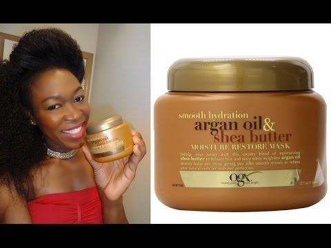 ORGANIX Smooth Hydration Argan Oil & Shea Butter Moisture Restore Mask