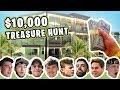 HIDDEN 10000 TREASURE HUNT AT THE FAZE HOUSE