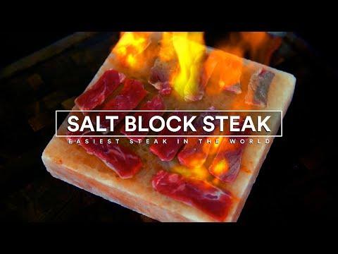 SALT BLOCK Steak! Easiest Steak in the WORLD