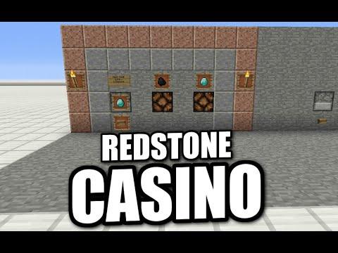 Minecraft PS4 -  REDSTONE CASINO - Tutorial ( PS3 / XBOX / WII / PE )