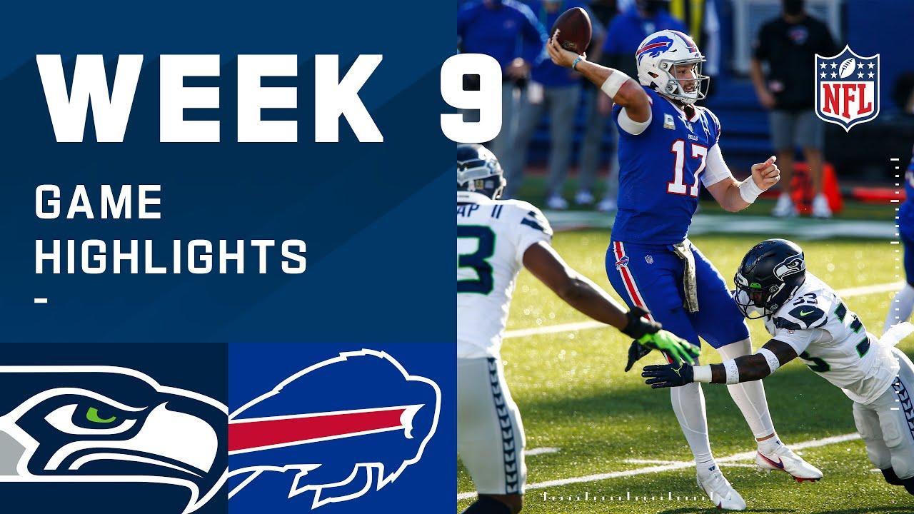 Seahawks vs. Bills Week 9 Highlights | NFL 2020
