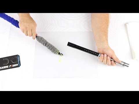 HK Army Blade Barrel Swab & Squeegee - Paint Cleaning Test