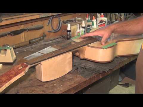 Chapter 21 Setting neck and truing Fret Board