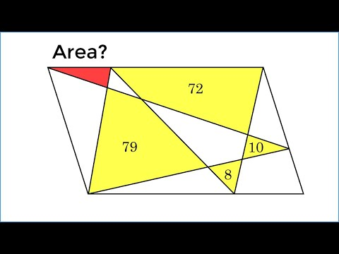 A Chinese 5th Grader Solved This In Just 1 Minute! HARD Geometry Problem