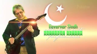 Exclusive - Ishrat Ul Ebad won hearts by playing National Anthem of Pakistan on an electric guitar..