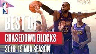 NBA's Best Chasedown Blocks   2018-19 NBA Season  #NBABlockWeek
