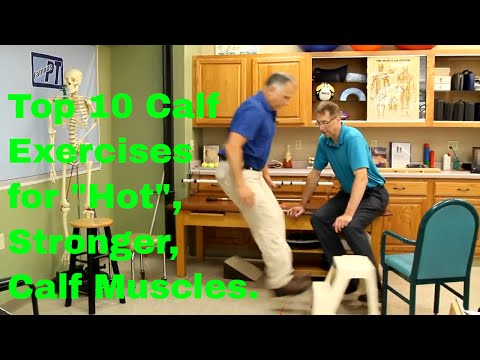 Top 10 Calf Exercises for