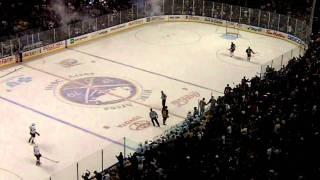 Sabres v.s. Ducks 12/21/10- Ennis Goal