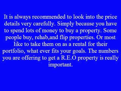Tips For Bidding On Bank Owned Properties
