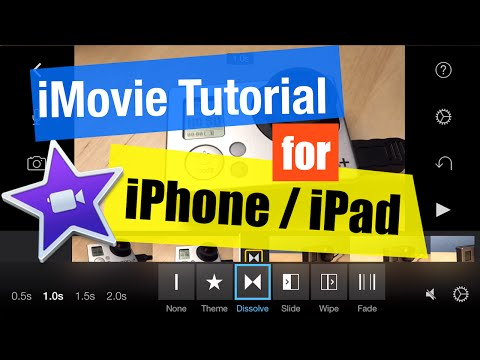 iMovie for iPhone and iPad Tutorial for Beginners