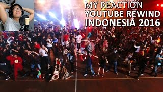 YouTube Rewind INDONESIA 2016 || REACTION + REVIEW