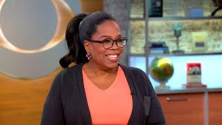 Oprah Winfrey talks new book, intention and Weinstein scandal