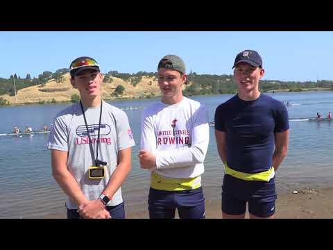 Long Beach Junior Crew LM4+ - The Francia Triplets