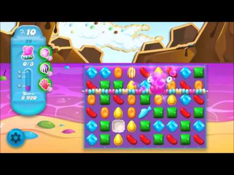 Candy Crush Soda Level 26 *Get the bear above the candy string*