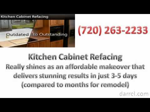 Kitchen Cabinet Centennial CO For Refacing - Not Replacing