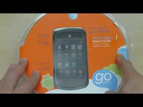 AT&T Avail 2 (ZTE Z992) GoPhone GSM Smartphone Unboxing and Review - Part 1