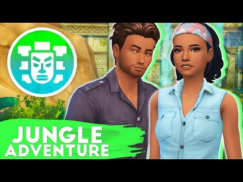 COMPLETED THE TEMPLE!😱🌴 // THE SIMS 4 | JUNGLE ADVENTURE #5
