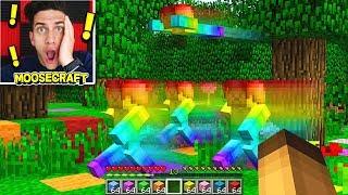 RAINBOW STEVE TAKES OVER MINECRAFT! (VERY SCARY)