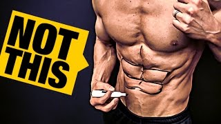 "Six Pack Ab ""Hack"" (ABS NOT REQUIRED!)"