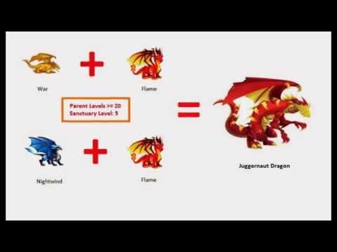 How to Breed Rare Hybrid Dragons in Dragon City New!!!