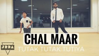Chal Maar Song | Dance Cover | Tutak Tutak Tutiya| Devi | Prabhudeva | @JeyaRaveendran