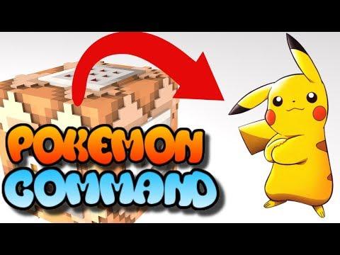 Minecraft Xbox One Command Block Pokemon Grass Encounters  (Bedrock Edition) MCPE Commands