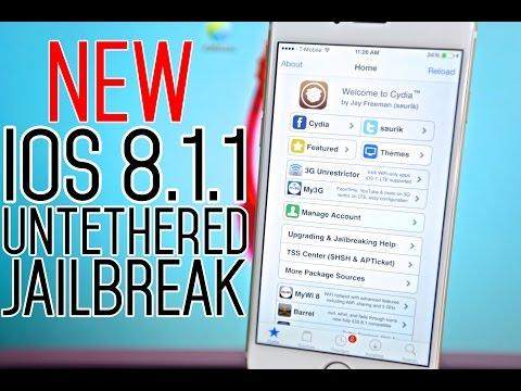 How To Jailbreak iOS 8.1.1 Untethered - iPhone, iPad & iPod on iOS 8 TaiG