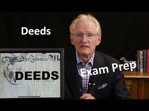 38 Deeds Part 1: Arizona Real Estate License Exam Prep