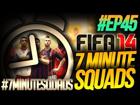 NEXT GEN FIFA 14 ULTIMATE TEAM | 7 Minute Squads #EP45 - 5 STAR SKILLER!!!