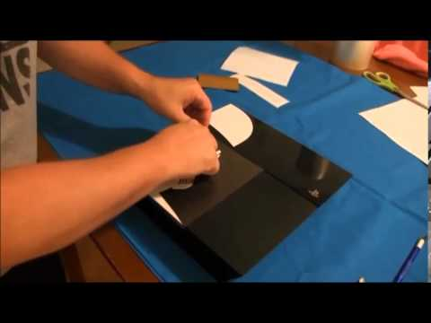 Applying Your Custom Battlefront Stormtrooper decal to the PS4