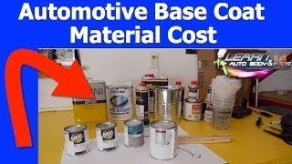 How Much Does Automotive Paint Cost