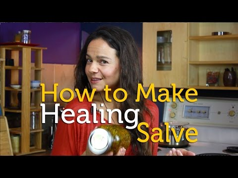 How to Make Healing Salve for Dry Skin | DIY Ointment Recipe