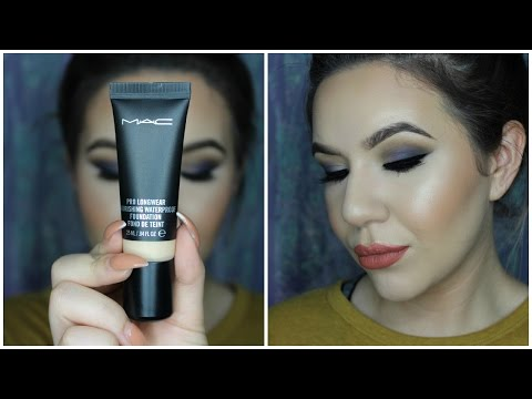 MAC Prolongwear Nourishing Waterproof Foundation Review | KatEyedTv