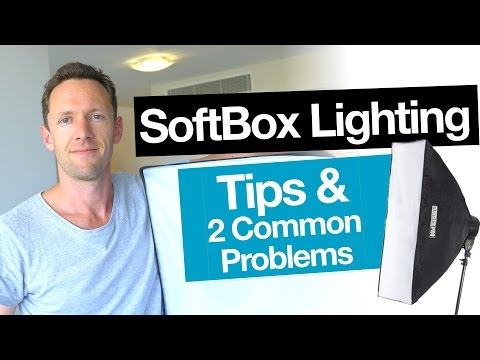 Video Lighting: Softbox Light Tips and 2 Common Problems