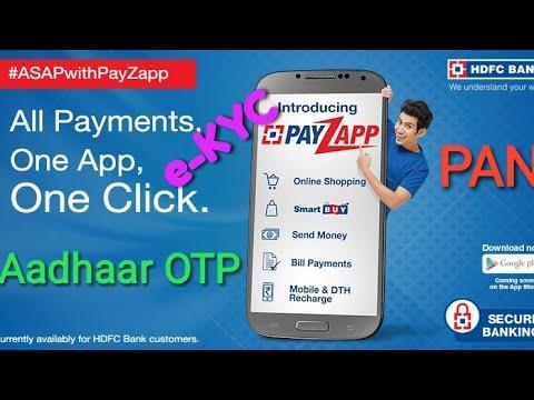 e-KYC with PayZapp | Need PAN + Aadhaar card ? So simple