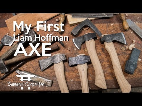 Forging My First Axe!!! With Liam Hoffman