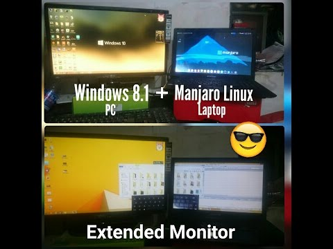 Use Laptop as secondary monitor | Any Operating System