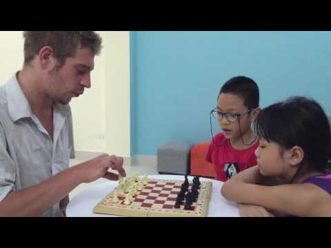 Learn how to play chess, kids!