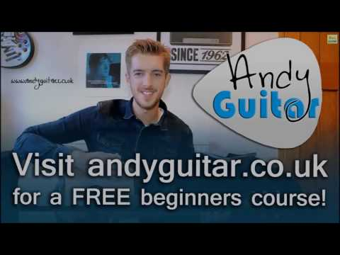 Guitar Tutorial for beginners The easiest lesson