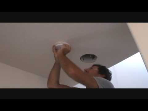 How to remove a hard wired smoke alarm