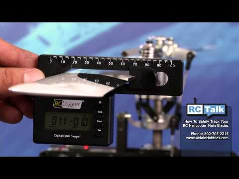 How To Track RC Helicopter Blades: AMain Hobbies' RC Talk