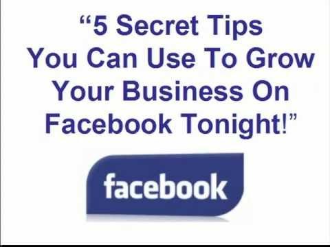 5 Secret Facebook Tips Online Seminar Invite Only Event