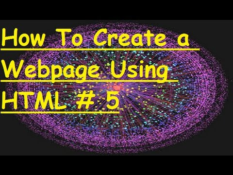 How To create a webpage using HTML Part 5: the Break tag