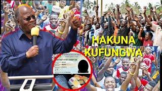 Serekali yatoa Tamko:Hakuna simu itakayo fungiwa kisa usajili wa alama ya vidole!shangwe zatanda.