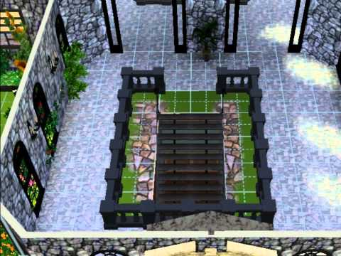 Sims 3 - Midnight Castle by: Paralola124
